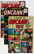 Golden Age (1938-1955):Horror, Uncanny Tales Group (Atlas, 1955-57) Condition: Average FN....(Total: 6 Comic Books)