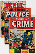 Golden Age (1938-1955):Crime, Comic Books - L. B. Cole-Related Crime Comics Group (Various Publishers, 1950s) Condition: Average FN.... (Total: 11 Comic Books)