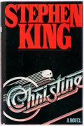 Books:Horror & Supernatural, Stephen King. Christine. New York: Viking Press, [1983].First edition. Publisher's binding and dust jacket. Some ru...