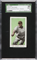 "Baseball Cards:Singles (Pre-1930), 1910 E98 ""Set of 30"" Honus Wagner, Green ""Black Swamp Find"" SGC 96Mint 9! ..."