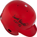 Baseball Collectibles:Others, Frank Robinson Signed Cincinnati Reds Authentic Helmet. ...