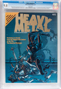 Magazines:Science-Fiction, Heavy Metal #1 (HM Communications, 1977) CGC NM/MT 9.8 Whitepages....