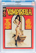 Magazines:Horror, Vampirella #61 (Warren, 1977) CGC NM/MT 9.8 White pages....