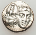 Ancients:Greek, Ancients: MOESIA. Istros. Ca. 4th century BC. AR drachm (5.20gm)....