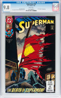 Modern Age (1980-Present):Superhero, Superman #75 Group (DC, 1993) CGC NM/MT 9.8 White pages.... (Total:3 )