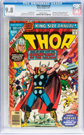 Bronze Age (1970-1979):Superhero, Thor Annual #6 (Marvel, 1977) CGC NM/MT 9.8 Off-white to white pages....