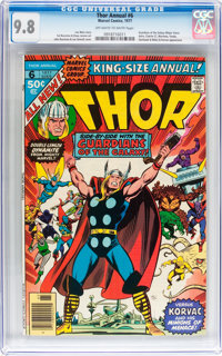 Thor Annual #6 (Marvel, 1977) CGC NM/MT 9.8 Off-white to white pages