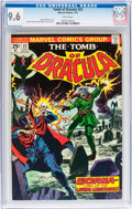 Bronze Age (1970-1979):Horror, Tomb of Dracula #22 (Marvel, 1974) CGC NM+ 9.6 White pages....
