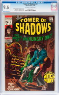 Silver Age (1956-1969):Horror, Tower of Shadows #2 (Marvel, 1969) CGC NM+ 9.6 Off-white to whitepages....