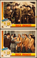 """Movie Posters:Comedy, Buck Privates (Universal, 1941). Lobby Cards (2) (11"""" X 14"""").. ...(Total: 2 Items)"""