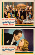 "Movie Posters:Comedy, Nothing Sacred (United Artists, 1937). Lobby Cards (2) (11"" X14"").. ... (Total: 2 Items)"