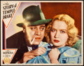 """Movie Posters:Film Noir, The Story of Temple Drake (Paramount, 1933). Lobby Card (11"""" X14"""").. ..."""