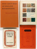 Books:Books about Books, Group of Four Books About Book-Making. Various publishers,1935-1979. Various editions. Publishers' bindings, Most in dustj... (Total: 4 Items)