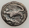 Ancients:Greek, Ancients: SICILY. Acragas. Ca. 413-406 BC. AR hemidrachm (1.86gm)....