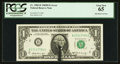 Error Notes:Ink Smears, Fr. 1905-B $1 1969B Federal Reserve Note. PCGS Gem New 65.. ...