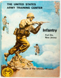 Books:Americana & American History, [US Army Yearbook]. The United States Army Training Center:Infantry, Fort Dix, New Jersey. Jostens Military Publica...