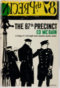 Books:Mystery & Detective Fiction, Ed McBain. The 87th Precinct. New York: Simon and Schuster, 1959. First edition, first printing. Octavo, 472 pages. ...