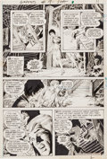 Original Comic Art:Panel Pages, Abe Ocampo Ghosts #18 Story Page 2 Original Art (DC,1973)....
