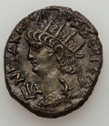 Ancients:Roman Provincial , Ancients: EGYPT. Alexandria. Hadrian (AD 54-68). AR tetradrachm(10.60 gm)....