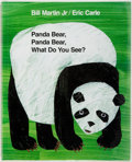 Books:Children's Books, [Eric Carle, illustrator.] SIGNED. Bill Martin, Jr. Panda BearPanda Bear What Do You See? New York: Henry Holt,...
