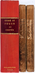 Books:Literature Pre-1900, James Fenimore Cooper. Home as Found. Philadelphia: Lea & Blanchard, 1838. First edition, later printing. Two octavo...