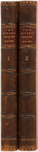 Books:Natural History Books & Prints, Benjamin Maund. The Botanic Garden. London: Simpkin and Marshall, 1831. Two octavo volumes, containing parts seven a... (Total: 2 Items)