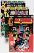 Modern Age (1980-Present):Science Fiction, Micronauts Multiple Copies Box Lot (Marvel, 1979-84) Condition:Average NM-....