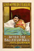 "Movie Posters:Comedy, After the Balled-Up Ball (Universal, 1917). One Sheet (28.5"" X42"").. ..."