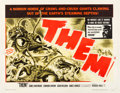 "Movie Posters:Science Fiction, Them! (Warner Brothers, 1954). Half Sheet (22"" X 28"").. ..."