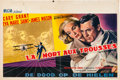 """Movie Posters:Hitchcock, North by Northwest (MGM, 1959). Belgian (14"""" X 22"""").. ..."""