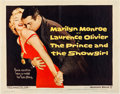 """Movie Posters:Romance, The Prince and the Showgirl (Warner Brothers, 1957). Half Sheet(22"""" X 28"""").. ..."""