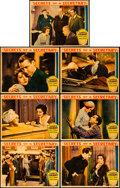 "Movie Posters:Drama, Secrets of a Secretary (Paramount, 1931). Lobby Cards (7) (11"" X 14"").. ... (Total: 7 Items)"