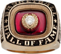 Basketball Collectibles:Others, 2003 Robert Parish Basketball Hall of Fame Induction Ring....