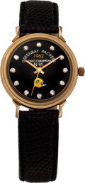 Football Collectibles:Others, 1962 Green Bay Packers NFL Championship Watch Presented to HankGremminger. ...