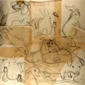 Books:Prints & Leaves, Garth Williams (1912-1996), illustrator. Ten (10) Original PencilStudies for A Tale of Tails. All initialed by Will...