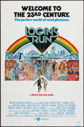 "Movie Posters:Science Fiction, Logan's Run (MGM, 1976). One Sheet (27"" X 41"") Flat Folded. ScienceFiction.. ..."