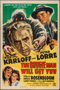 """Movie Posters:Horror, The Boogie Man Will Get You (Columbia, 1942). One Sheet (27"""" X 41""""). Horror.. ..."""