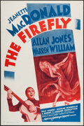 """Movie Posters:Musical, The Firefly (MGM, R-1962). One Sheet (27"""" X 41""""). Musical.. ..."""