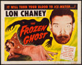 "Movie Posters:Horror, The Frozen Ghost (Realart, R-1954). Half Sheet (22"" X 28""). Horror.. ..."