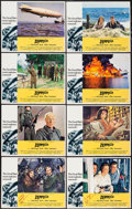 """Movie Posters:War, Zeppelin (Warner Brothers, 1971). Autographed Lobby Card Set of 8(11"""" X 14""""). War.. ... (Total: 8 Items)"""