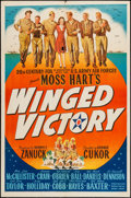 "Movie Posters:War, Winged Victory (20th Century Fox, 1944). One Sheet (27"" X 41"").War.. ..."