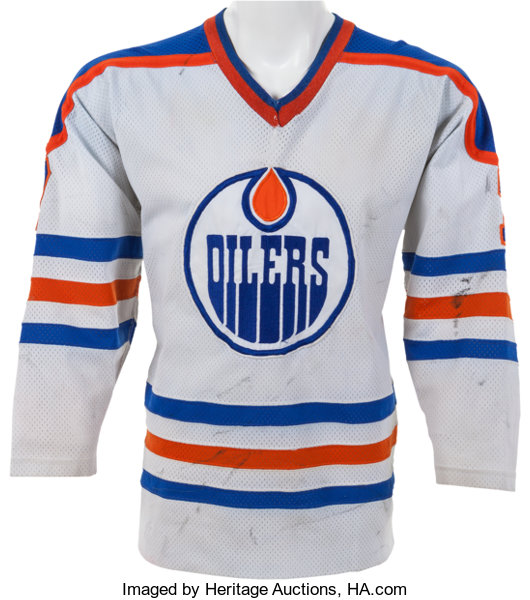 10e65c91da6 ... Hockey Collectibles:Uniforms, 1980-81 Paul Coffey Game Worn Edmonton  Oilers Rookie Jersey ...