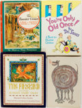 Books:Children's Books, [Children's Literature]. Group of Four Illustrated Books. Variouspublishers, 1964 to 1986. Various editions. Quartos. Publi...(Total: 4 Items)