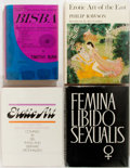 Books:Art & Architecture, Group of Four Books Related to Human Sexuality. Includes two books on erotic art. Various publishers, mid twentieth century.... (Total: 4 Items)