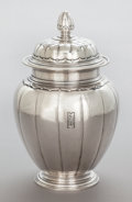 Silver Holloware, American:Other , A TIFFANY & CO. HAND HAMMERED SILVER PRESENTATION JAR . Tiffany& Co., New York, New York, circa 1925-1926. Marks:TIFFANY...