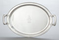 Silver Holloware, American:Trays, A TIFFANY & CO. SILVER TWO-HANDLED TRAY. Tiffany & Co., NewYork, New York, circa 1921-1922. Marks: TIFFANY & CO,STERLING...