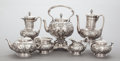 Silver & Vertu:Hollowware, A SEVEN PIECE TIFFANY & CO. SILVER TEA AND COFFEE SERVICE . Tiffany & Co., New York, New York, circa 1865-1870. Marks: TIF... (Total: 7 )