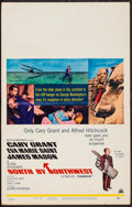 """Movie Posters:Hitchcock, North by Northwest (MGM, R-1965). Window Card (14"""" X 22"""").Hitchcock.. ..."""