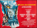 """Movie Posters:War, Force 10 from Navarone (American International, 1978). British Quad(30"""" X 40"""") & Lobby Card Set of 8 (11"""" X 14""""). War.. ...(Total: 9 Items)"""