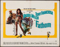 """Movie Posters:Adventure, Fathom & Other Lot (20th Century Fox, 1967). Half Sheet (22"""" X28""""), Lobby Card (11"""" X 14""""), & One Sheet (27"""" X 41"""").Advent... (Total: 3 Items)"""